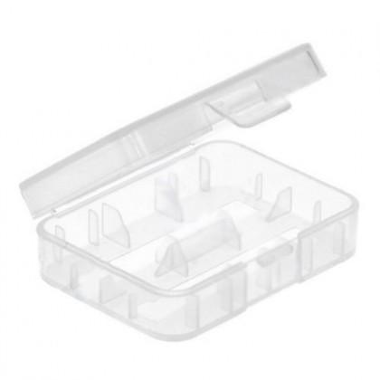 Plastic box 2x14500 / 16340