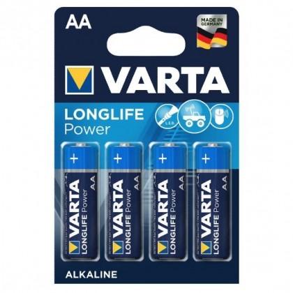 4 x Varta Longlife Power LR6/AA 4906 (High Energy)