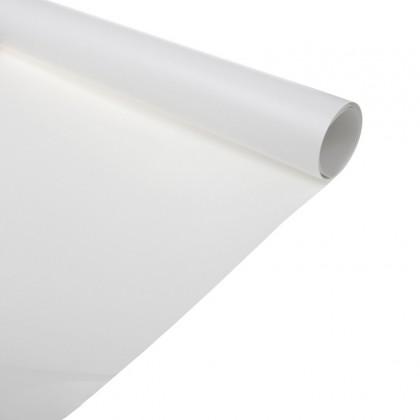 Backdrop white PVC 100x200 cm