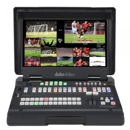 DATAVIDEO HS-2850-8 8 INP VIDEO SWITCHER WITH MONITOR 17,3