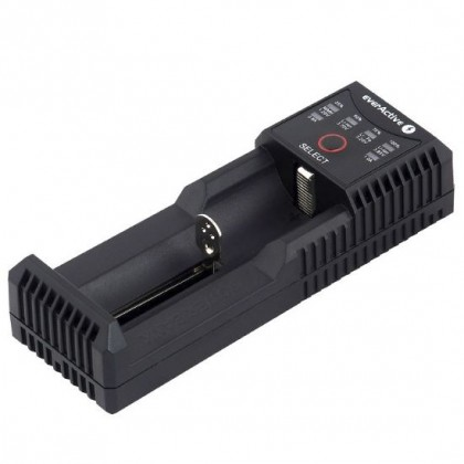 Battery charger for Li-Ion and Ni-MH everActive UC-100