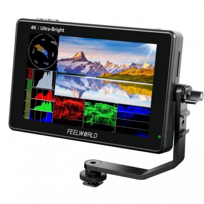 "FEELWORLD MONITOR LUT7S 7"" WITH SDI 4K HDMI"