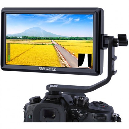"""FeelWorld S55 5.5"""" Lightweight HDMI Monitor with 4K Input/Output"""