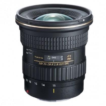 Lens Tokina AT-X 11-20 F2.8 PRO DX Canon
