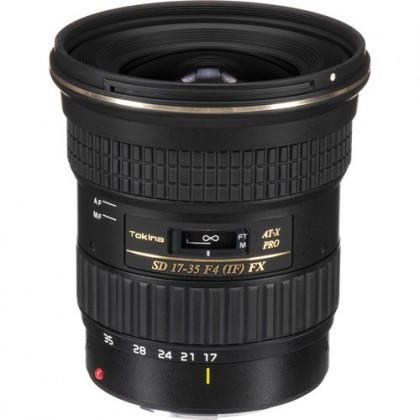 Lens Tokina AT-X 17-35 F4 PRO FX Canon