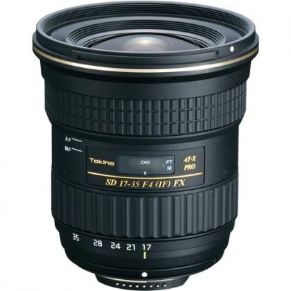 Lens Tokina AT-X 17-35 F4 PRO FX Nikon