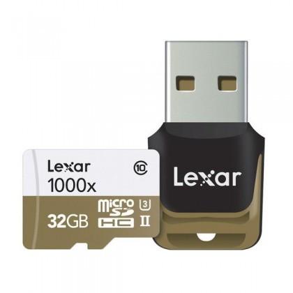 Карта памяти 32GB LEXAR HIGH-PERFORMANCE MSDHC/MSDXC UHS-II 1000X