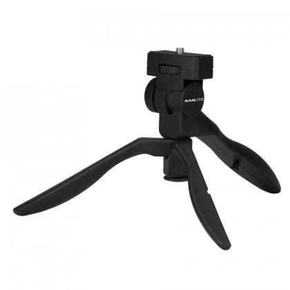 NANLITE Mini Tripod & Hand Grip with 1/4 screw
