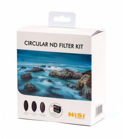 77mm NISI Filter Circular ND Kit ND8, ND64+CPL and ND1000