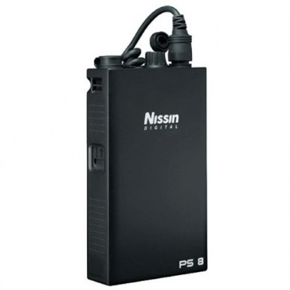 NISSIN POWERPACK PS8 FOR NIKON / CANON