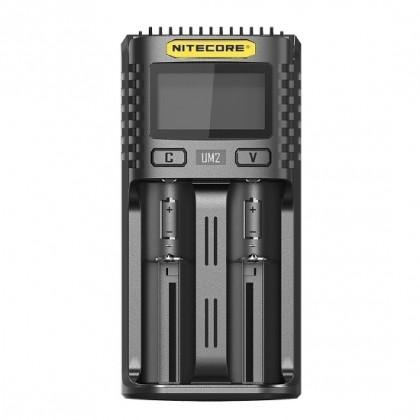 Универсальное зарядное устройство Nitecore UM2 USB для LI-Ion и Ni-Mh аккумуляторов