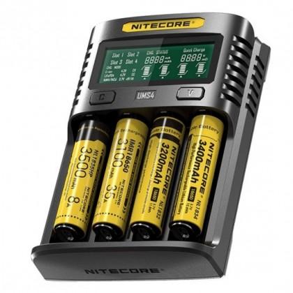 Nitecore UMS4 3A Li-ion charger