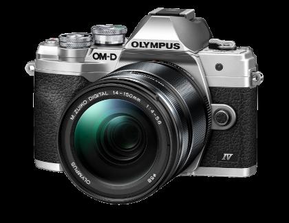 Olympus OM-D E-M10 Mark IV 14-150mmF4.5-5.6II slv/blk kit