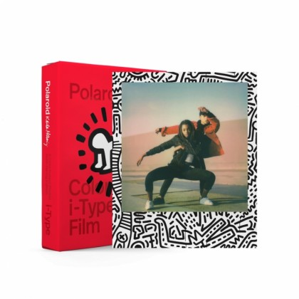 POLAROID I-type colour film Keith Haring Limited Edition