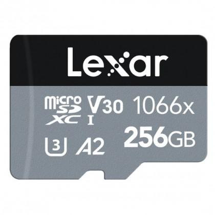 Карта памяти Lexar Pro 1066x microSDHC/microSDXC UHS-I (SILVER) R160/W120 256GB