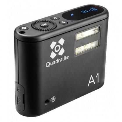 Quadralite A1 1W LED smartphone monolight