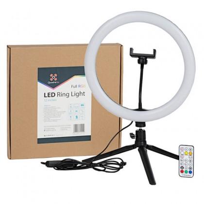 Quadralite LED RGB Ring Light 12 inches