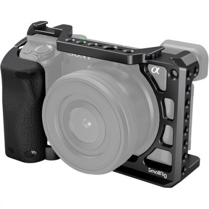 SmallRig 3164 Cage with Silicone Handle for Sony A6100/6300/6400