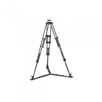 Pro Video Carbon tripod CF Twin leg with ground spreader 100/75mm bowl