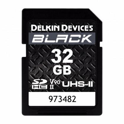32GB DELKIN SD BLACK Rugged UHS-II (V90) R300/W250