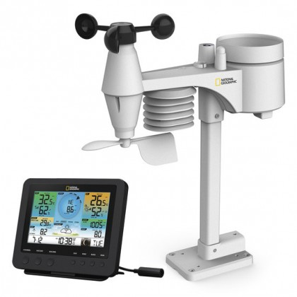 National Geographic, WI-fi Weather station is a 7-in-1 Professional-Sensor