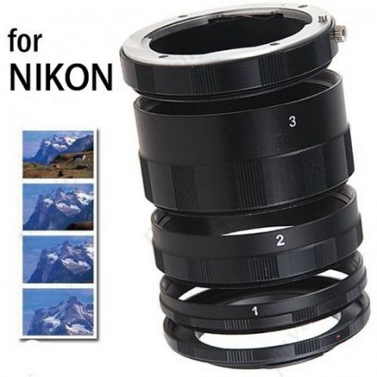 Macro Extension Tube Ring For NIKON Ai AF