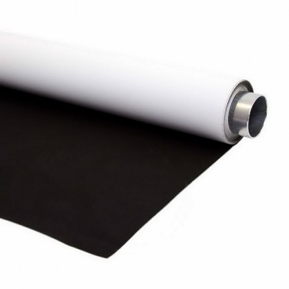 2m x 8m Double Sided Vinyl White and Black Professional  background