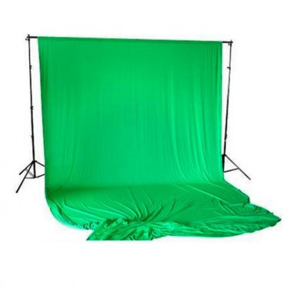 Bresser BR-D24 Support 2.4x3m + 2.5x3m Cloth Chroma Green
