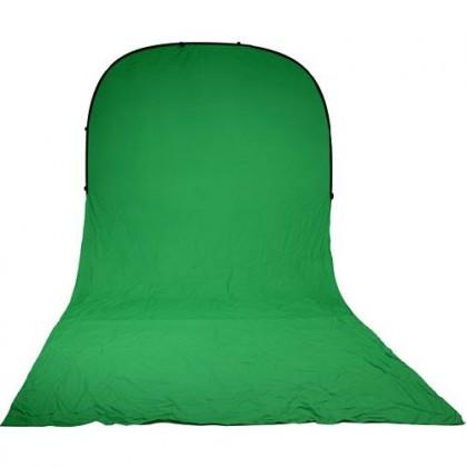 Zaļš Saliekams fons Bresser BR-TR10 150x200x200cm Collapsible Green Chromakey Background