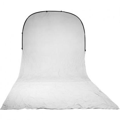 Balts Saliekams fons Bresser BR-TR10 150x200x200cm Collapsible Background white