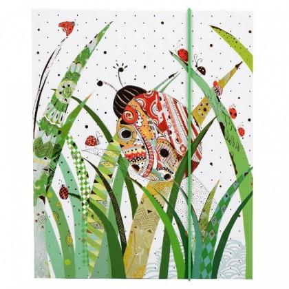 GOLDBUCH 68 305 13X18 10B IN MY BACKYARD LADY BUG LEPORELLO ALBUMS