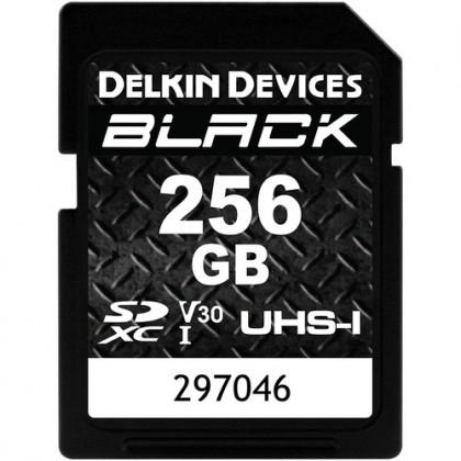 DELKIN SD BLACK Rugged UHS-II (V30) R90/W90 256GB