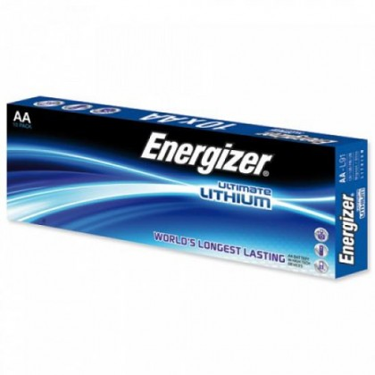 10X Energizer L91 Ultimate Lithium R6 AA