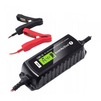 Battery charger microprocessor 6V / 12V everActive CBC-5