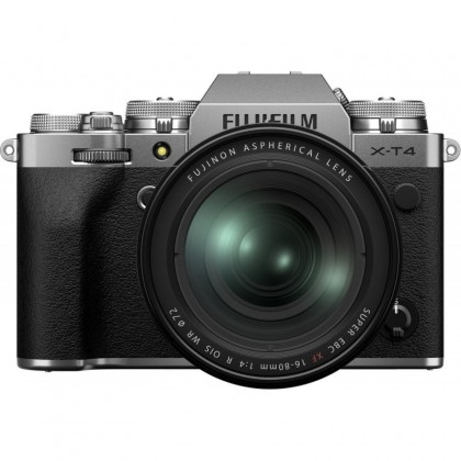 Fujifilm X-T4 + 16-80mm, silver