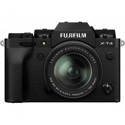 Fujifilm X-T4 + 18-55mm, black