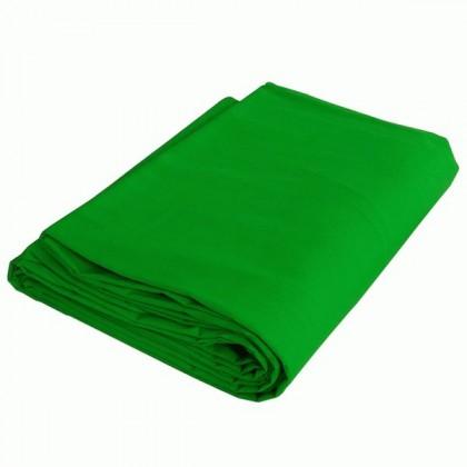 Studijas fons zaļš Bresser BR-9 Washable Background Green Chromakey 3x6m 100% Cotton