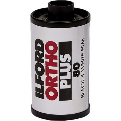 ILFORD PHOTO FILM ORTHO PLUS 135 - 36 exp ISO 80