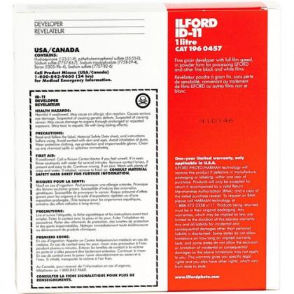 ILFORD PHOTO Ilford Developer ID-11