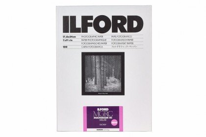 ILFORD PHOTO ILFORD MULTIGRADE RC DELUXE GLOSSY 17.8x24cm 25pcs