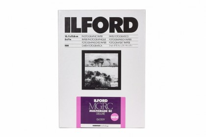 ILFORD PHOTO ILFORD MULTIGRADE RC DELUXE GLOSSY 12.7x17.8cm 25pcs