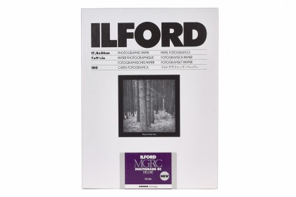 ILFORD PHOTO ILFORD MULTIGRADE RC DELUXE PEARL 17.8x24cm 25pcs