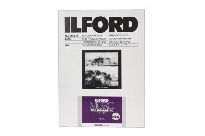 ILFORD PHOTO ILFORD MULTIGRADE RC DELUXE PEARL 12.7x17.8cm 25pcs