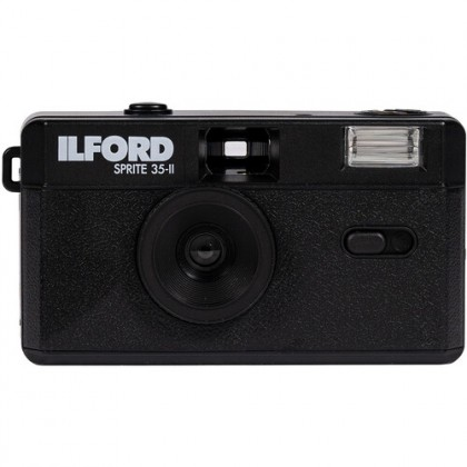 Ilford Sprite 35-II Film Camera (Black)