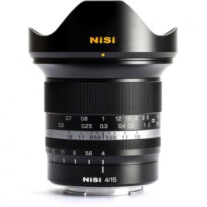 NISI Lens 15mm F4 Fuji X-Mount