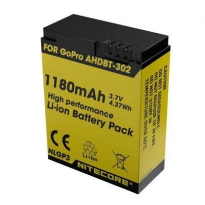Nitecore NLGP3 Li-Ion battery for GoPro Hero3/3+