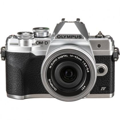 Olympus OM-D E-M10 Mark IV 14-42mmF3.5-5.6 Pancake silver kit