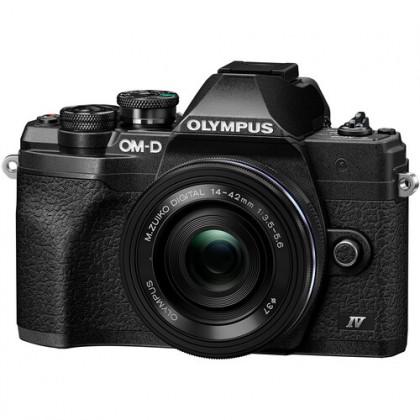 Olympus OM-D E-M10 Mark IV 14-42mmF3.5-5.6 Pancake black kit