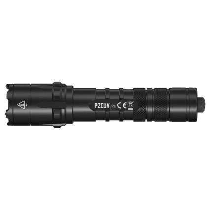 Nitecore P20UV V2 - 1000 Lumen + UV