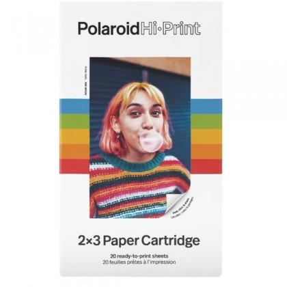 "POLAROID HI-PRINT CARTRIDGE 2,1X3,4"" 20-PACK STICK"